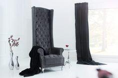 ROYAL CHAIR antik szürke szék  #lakberendezés #lakberendezes #otthon #otthondekor #homedecor #furnishings #design #ideas #furnishingideas #housedesign #classicdecor #livingroomideas #livingroomdecorations Sofa Design, Royal Chair, Interior Decorating, Interior Design, Wingback Chair, Interior Architecture, Living Room Decor, Accent Chairs, House Design