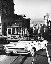 Old Photo. San Francisco, California. 1962 Plymouth Turbo Fury - Streetcar