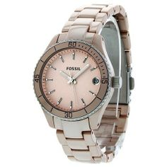 Fossil Stella Women's Quartz Watch ES2927 Fossil. $74.95. Quartz. Two Tone Stainless Steel Strap. Date. Water Resistance : 5 ATM / 50 meters / 165 feet. Round Aluminium Case