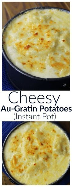 Sliced potatoes baked in a thick, cheesy sauce we know as au-gratin potatoes. Perfect for a side dish!