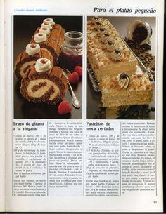 El gran libro de la reposteria everest Cakes And More, Tiramisu, Mousse, Deserts, Rolls, Cupcakes, Yummy Food, Chocolate, Sweet