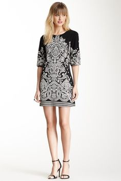 Papillon Printed Shift Dress by Assorted on @HauteLook