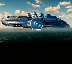 The Fholston Cruise Ship, which operates on water or in space from 1997's The Fifth Element.