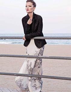 Olga Mailou for Jessica Magazine by Eniko Szucs