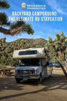 Getting the most out of your RV is money well spent! The adventure doesn't have to stop when your rig is parked. In fact, a fun staycation can be just as relaxing as an RV vacation, without the stresses of the road. In this blog, we'll discuss some ideas to help you make your next RV staycation a memorable one!