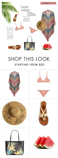 """""""Concour summer"""" by caca-bouda on Polyvore featuring mode, Missoni Mare, Melissa Odabash et Calvin Klein"""