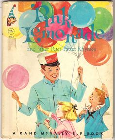 Rand McNally Elf Book - Pink Lemonade