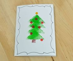 Instead of buying those big packs of identical holiday cards, make these easy homemade cards that really say you& thinking of that special someone. Diy Holiday Cards, Simple Christmas Cards, Christmas Card Crafts, Holiday Greeting Cards, Christmas Greeting Cards, Christmas Greetings, Diy Cards, Christmas Ornament, Christmas Ideas