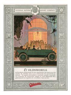 Oldsmobile, Magazine Advertisement, USA, 1920 Art Print | Item #: 15278890A