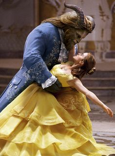 Beauty and the Beast (2017) with Dan Stevens and Emma Watson.