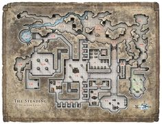 Dungeon #197 - Steading of the Hill Giant Chief; Basement Level (Digital DM & Player Versions)