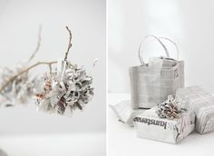 Making recycled newspaper look great!