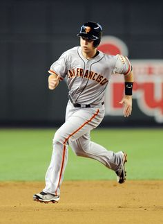 Buster Posey #28  I don't usually follow baseball, but Giants World Series 2012!! Gotta root for the home team!