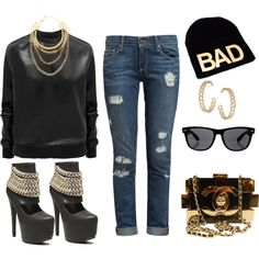 """""""Untitled #351"""" by fashionista-shawnte on Polyvore"""