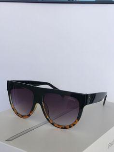 dd75f6d33f4 Celine Women s41026 s Fu55i Black havana Sunglasses 58mm  fashion  clothing