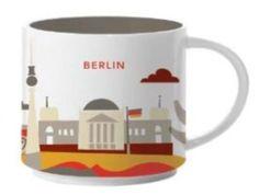 Berlin   YOU ARE HERE SERIES   Starbucks City Mugs
