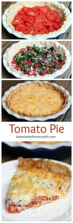 Tomato Pie recipe from TastesBetterFromScratch.com
