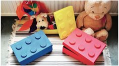 Have you started your #SpringCleaning yet? Make these cute lego storage boxes to help your kiddos get organized!