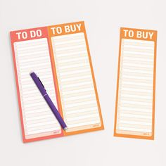 Knock Knock To Do / To Buy Perforated Notepads are not your ordinary shopping list and to-do list pads. Perforated, they're made to divide and conquer! To Do List Pad, Go Getter, How To Get, How To Plan, Getting Things Done, Hostess Gifts, Knock Knock, Divider, Stationery