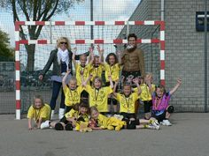 Kampioen in E2. Met Laura, Chantal, Evie, Roos, Marit, Danique en Anna.