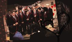 silly love songs by the warblers wallpaper