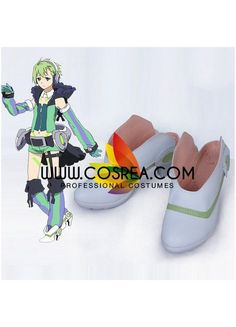 Macross Delta Reina Prowler Cosplay Shoes