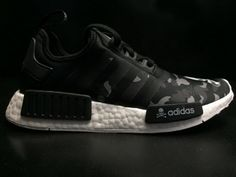 100% authentic a49f3 c8111 Adidas NMD X Mastermind X Bape Superstar Nh Bape Black White street styles  Shoe