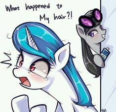 - alternate hairstyle, artist:hua, ask trolltavia, octavia melody… Vinyl Scratch, Tiny Horses, Imagenes My Little Pony, Mlp Characters, Childhood Characters, My Little Pony Cartoon, Mlp Fan Art, Fanart, Mlp Comics