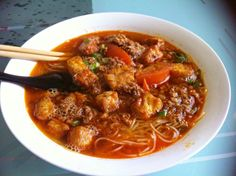 where to have bun rieu cua in Saigon