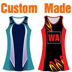 Custom Made Netball Dresses Bodysuits Singlets Skirts Sublimation Netball Dresses, Bodysuits, Custom Made, Athletic Tank Tops, Skirts, T Shirt, Women, Fashion, Moda