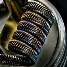 #Repost @rbodnar217 ・・・ N80 ribbon can really give some awesome colors. _ _ #vapesafe #buildfam #coilporn #subohm #coilart #vapingsavedmylife #coilsmith #vape #vapeporn #coil #coilbuild #wireporn #cleanbuilds #masterbuilder #dripclub #vapefam #sickbuilds #coil_architects #njvapaholiks #coilarchitects #subohmclub #atomizerwick #goon