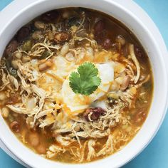 Skinny White Chicken Chili  | Skinny Mom | Where Moms Get The Skinny On Healthy Living