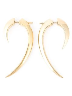 Shop Shaun Leane 'Signature Tusk' earrings in Uzerai from the world's best independent boutiques at farfetch.com. Shop 400 boutiques at one address.