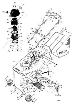 Hayter Harrier 41 - 311T01203 Spare Parts Machine diagrams Schematics Shoulders of shoreham www.shouldersofshoreham.co.uk