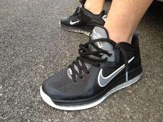 Nike Lebron 9 Low – Black – Grey – White