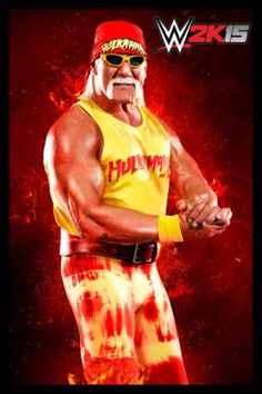 If you didn't already know, there is a special package for hulk hogan this year you can get: the game, a pop vinyl figure of him, piece of the ring mat he was on at wrestlemania 30, hulk hogan dlc pack, sting dlc pack, and a sighed picture of him.