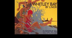 An poster sized print, approx mm) (other products available) - Poster, LNER, & Bay by L.& by Tom Purvis - Image supplied by National Railway Museum - poster sized print mm) made in the UK Posters Uk, Train Posters, Railway Posters, Beach Posters, Retro Posters, British Holidays, National Railway Museum, Canvas Prints, Art Prints