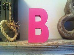 Freestanding Wooden Letter 'B'   25cm  Ariel by LoveLettersMe, £9.95