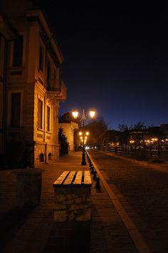 Florina at night, Macedonia, Hellas Macedonia Greece, Crete Greece, Nocturne, Night Scenery, Greek Culture, Thessaloniki, Greece Travel, Landscape Photos, Night Life