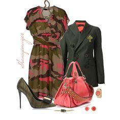"""""""Military Chic by Sheniq"""" by sheniq on Polyvore"""