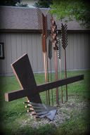 Sculpture at Mennonite Heritage and Agricultural Museum