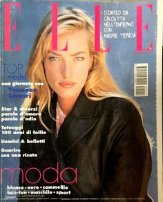 Tatjana Patitz Tatiana Patitz, Elle Magazine, Magazine Covers, Alley Cat, Princess Caroline, Almost Perfect, Cover Model, Vintage Ads, Supermodels