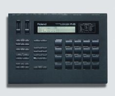 Roland R-8 — Used by Orbital, Underworld, Jimmy Edgar, Autechre, 808 State, Dave Holmes, Fluke, Human League and The Shamen.