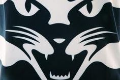 geelong cats logo - Google Search Cat Character, St Kilda, Cat Logo, Superhero Logos, Cartoon Characters, Squad, Cats, Cheer, Logo Google