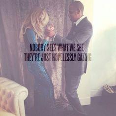 Beyoncé & Jay Nobody See's What We See......