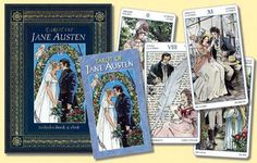 The Tarot of Jane Austen:  mainly features scenes from Pride and Prejudice, Emma, Sense and Sensibility, and Mansfield Park.