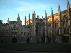 New College, Oxford.