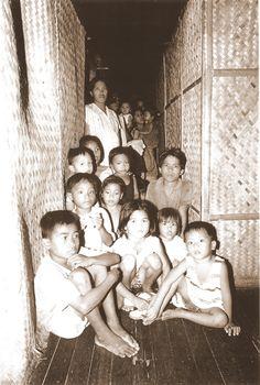 Les enfants philippins de Cébu : des regards plein d'espoir qui ont vraiment touché nos cœurs.