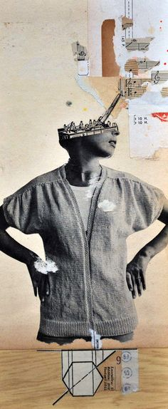 Paz Brarda · Collage · Assemblage