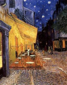 Night Cafe Wall Art Item #1935615 By: Vincent Van Gogh